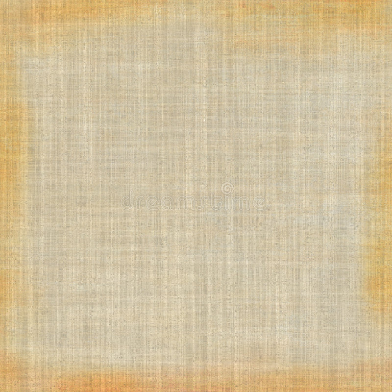 Vector Grunge Fabric. Vintage old linen brown tones fabric for background designs. Vector also stock illustration