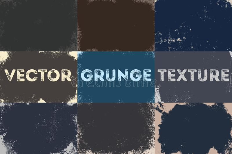 Grunge urban background.Texture vector dust distress grain. Grungy effect. Abstract, splattered, dirty, poster. stock illustration