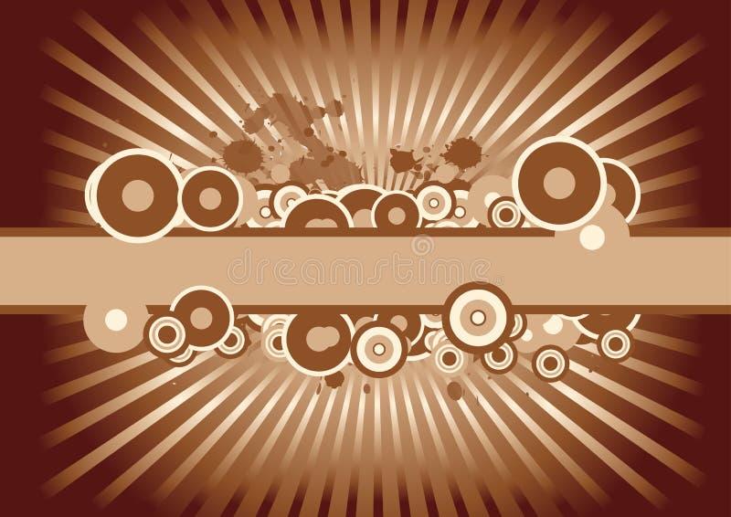 Vector grungeontwerp vector illustratie