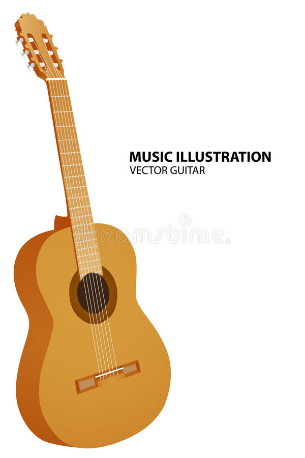 Download Vector guitar stock vector. Image of modern, acoustic - 20777408