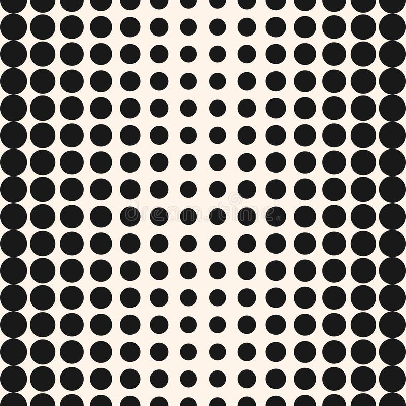Vector half tone circles pattern. Halftone dots background. vector illustration