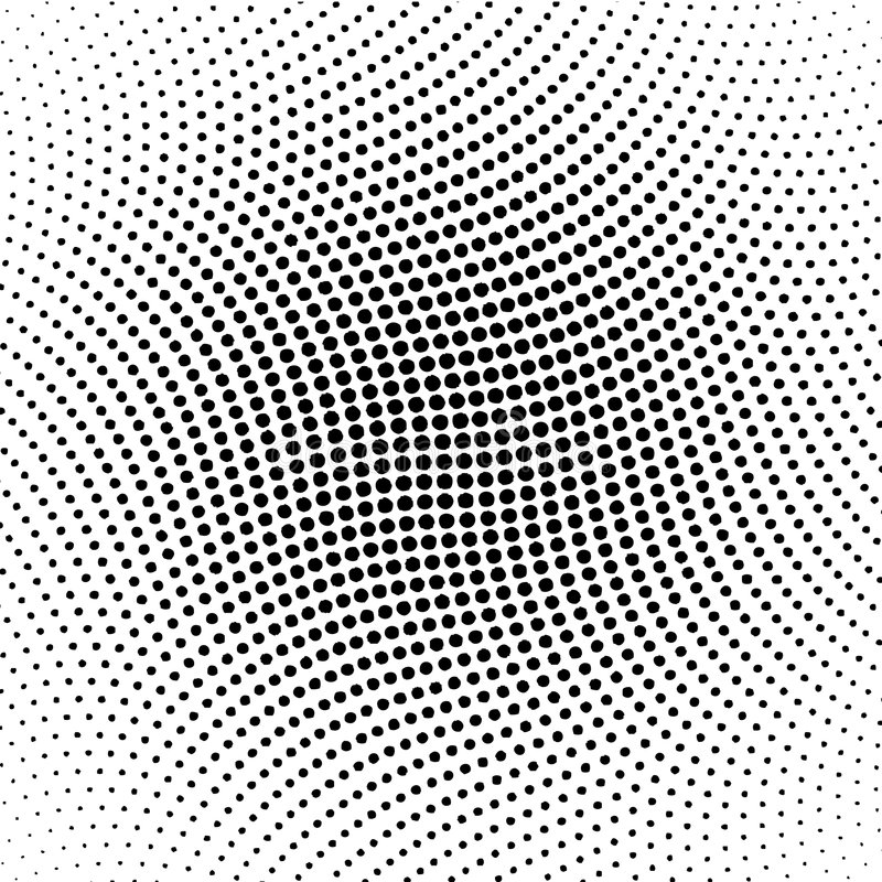 Free Vector Halftone Dots Royalty Free Stock Photo - 3047995