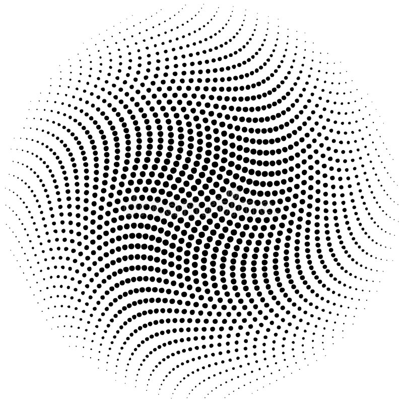 Vector halftone dots vector illustration