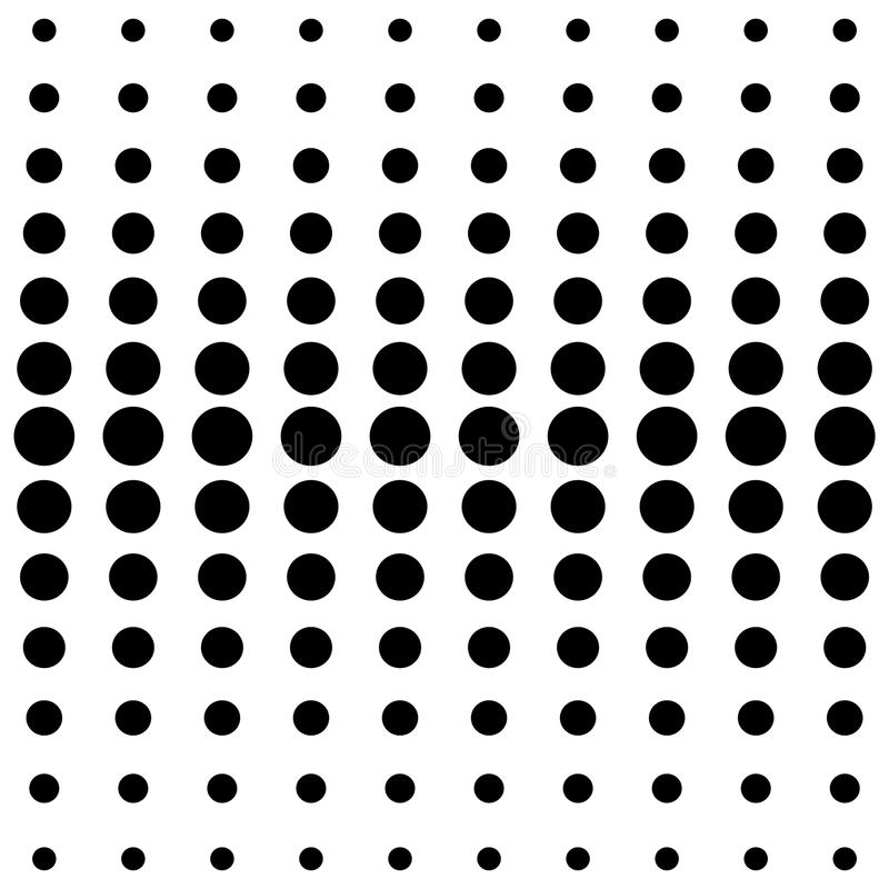 vector halftone dots black dots on white background stock vector rh dreamstime com vector halftone pattern illustrator vector halftone dot pattern free