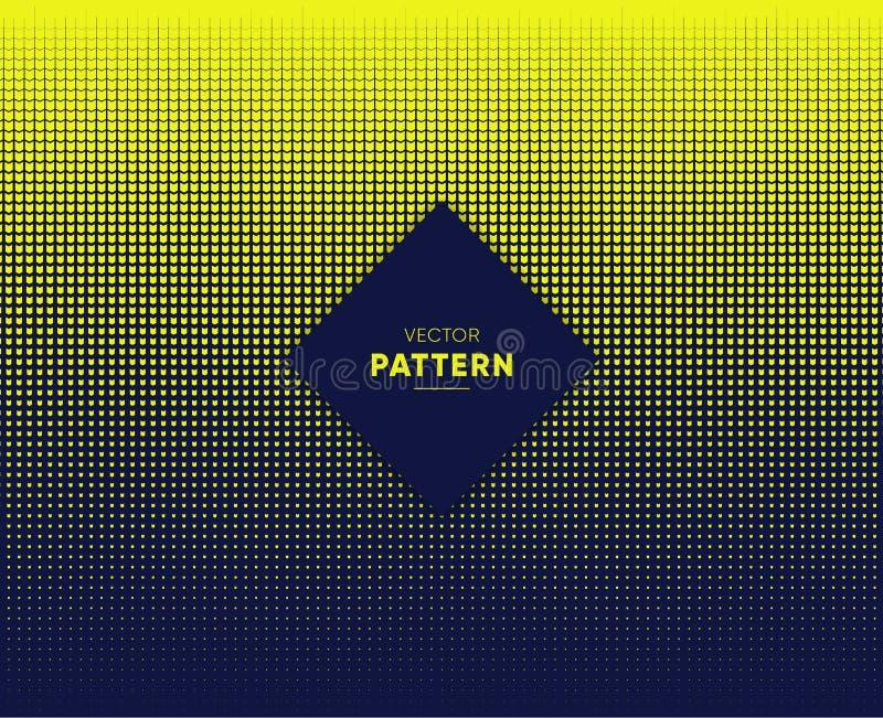 Vector halftone voor achtergronden en ontwerpen vector illustratie