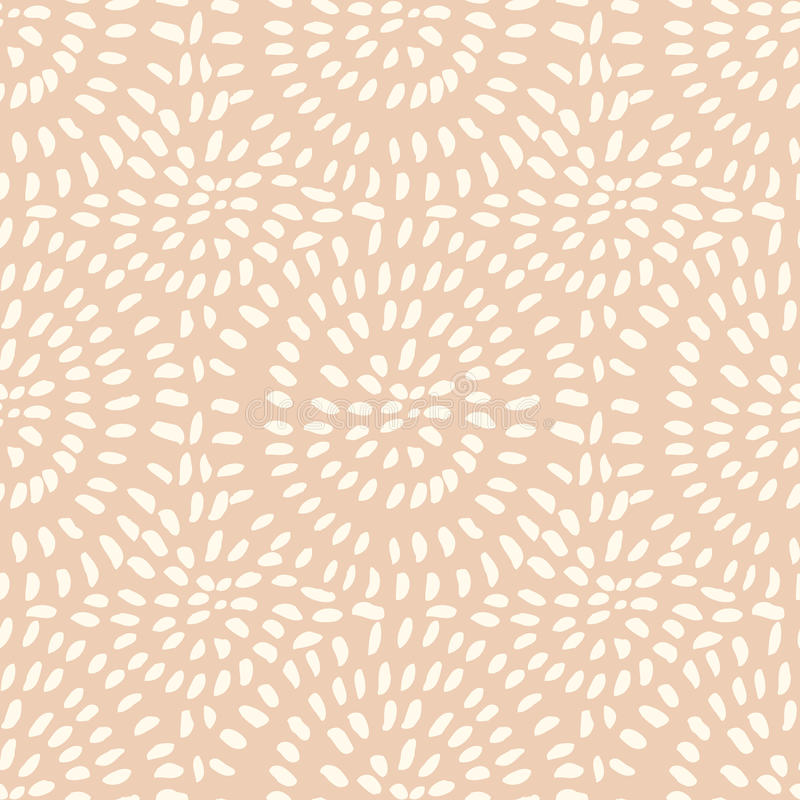 Vector hand-drawn stylish seamless pattern with ink strokes. vector illustration
