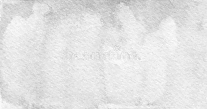 Vector hand painted gray texture. Usable as a background royalty free illustration