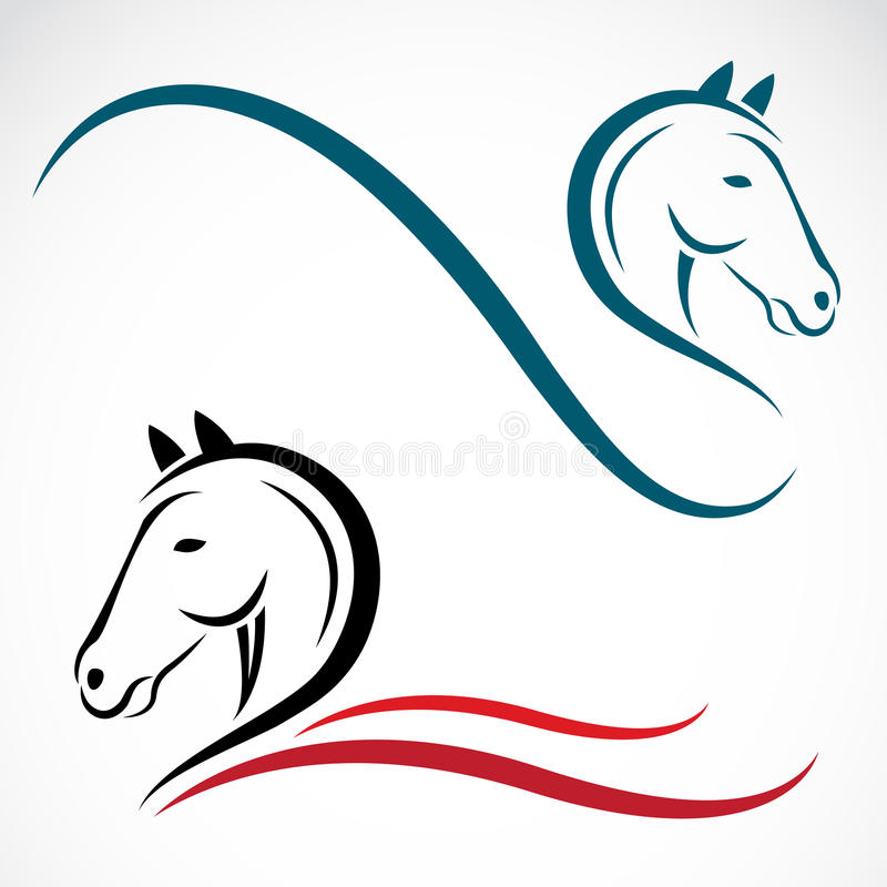 Download Vector head of horse stock vector. Illustration of graphic - 32246772