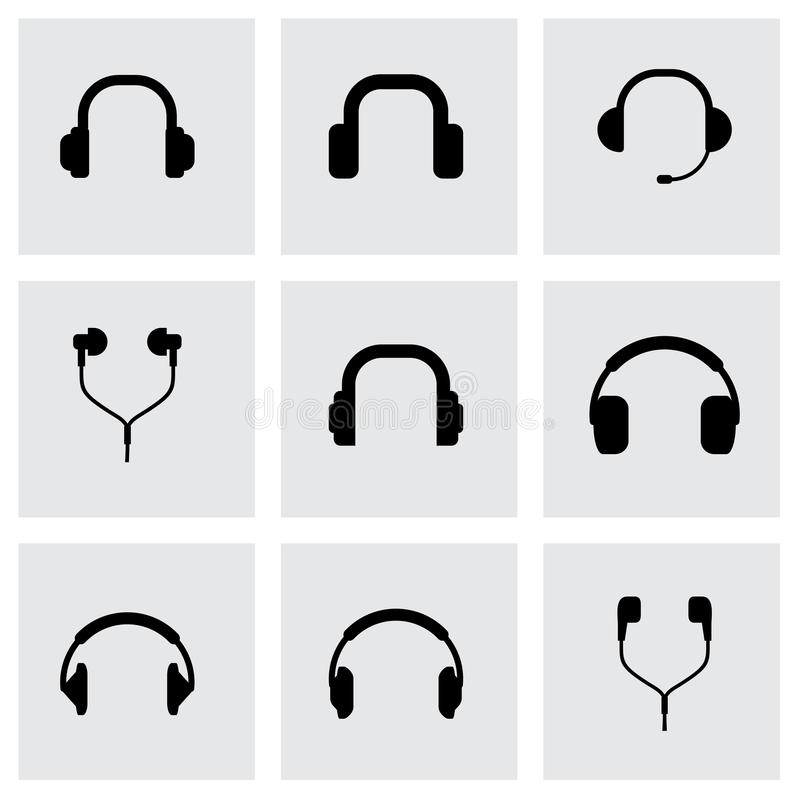 Free Vector Headphone Icon Set Stock Photography - 53000112