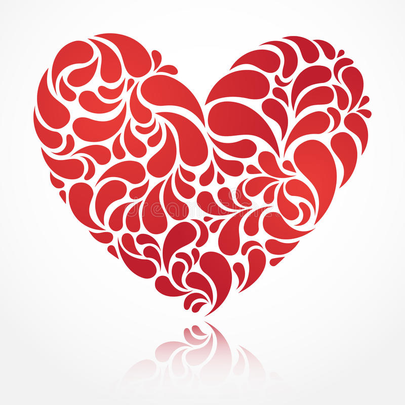 Download Vector heart stock vector. Image of holiday, element - 26684663