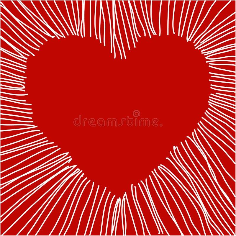 Download Vector heart stock vector. Illustration of gift, valentine - 8580865