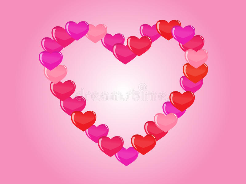 Download Vector Heart Background Royalty Free Stock Photo - Image: 14261725