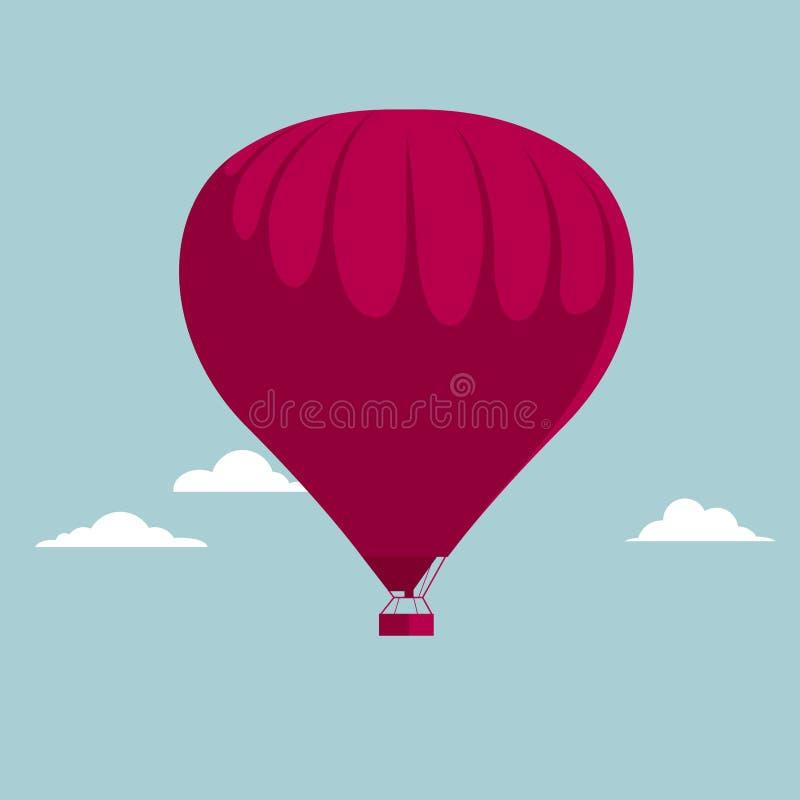 Vector Heißluftballon vektor abbildung
