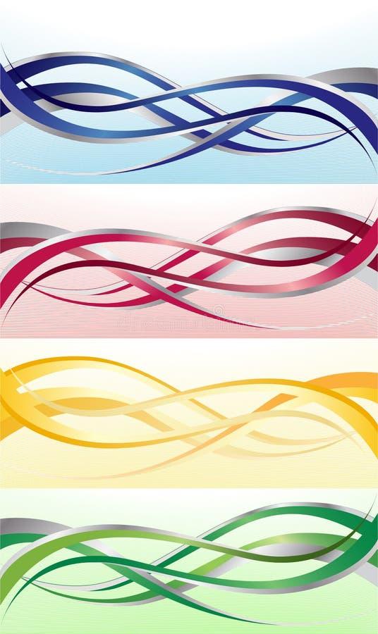 Vector heldere banner vector illustratie