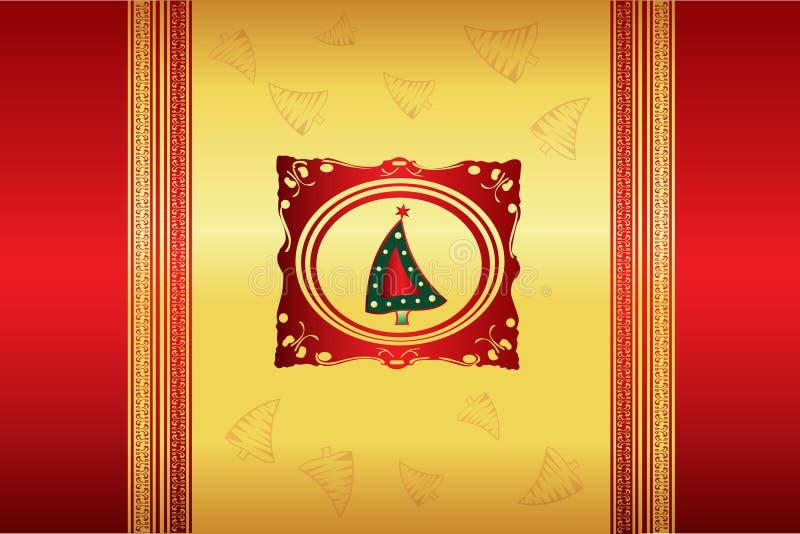 Vector hermoso de la ilustración de la Navidad libre illustration