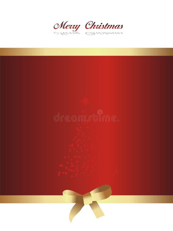 Vector hermoso del fondo de la Navidad ilustración del vector