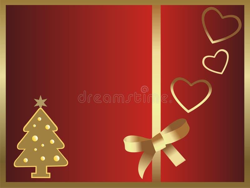 Vector hermoso del fondo de la Navidad libre illustration