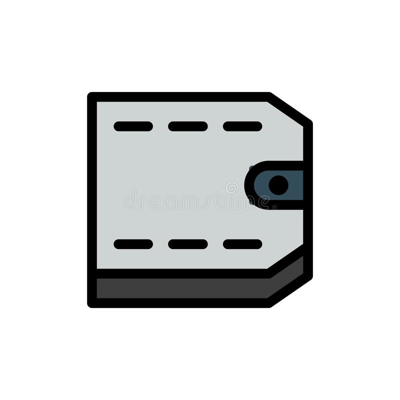 Vector het embleempictogram of illustratie van de portefeuille financi?le Zomer o Perfect gebruik voor patroon en grafisch ontwer stock illustratie