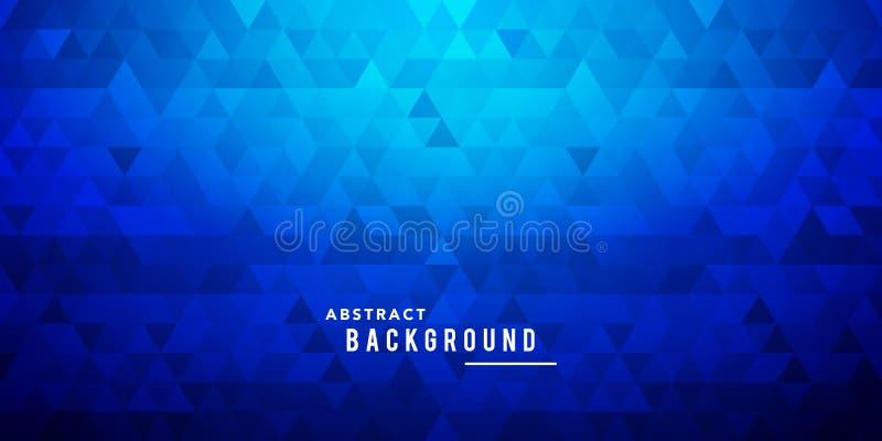 Vector het Mozaïekachtergrond van het Illustratie Donkere Net, Creatief Diamond Design Template vector illustratie