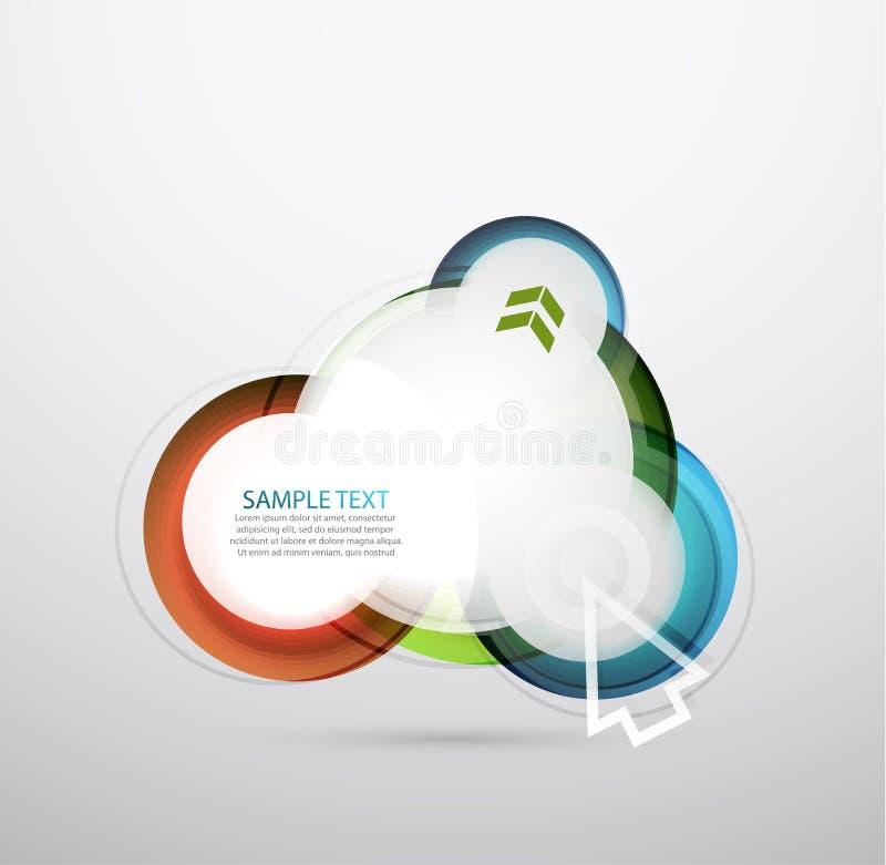 Download Vector Hi-tech Bubble Banner Stock Vector - Illustration: 24873483