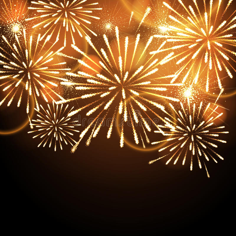 Download Vector Holiday Firework Stock Vector - Image: 83714483
