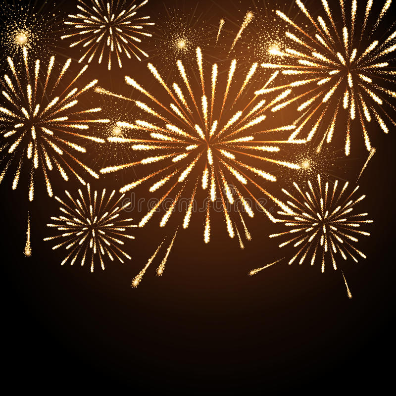 Download Vector Holiday Firework Stock Vector - Image: 83715353