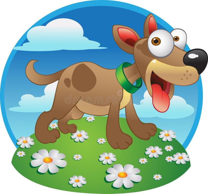 Vector hond royalty-vrije illustratie
