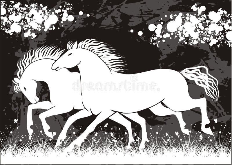Vector horse vector illustration