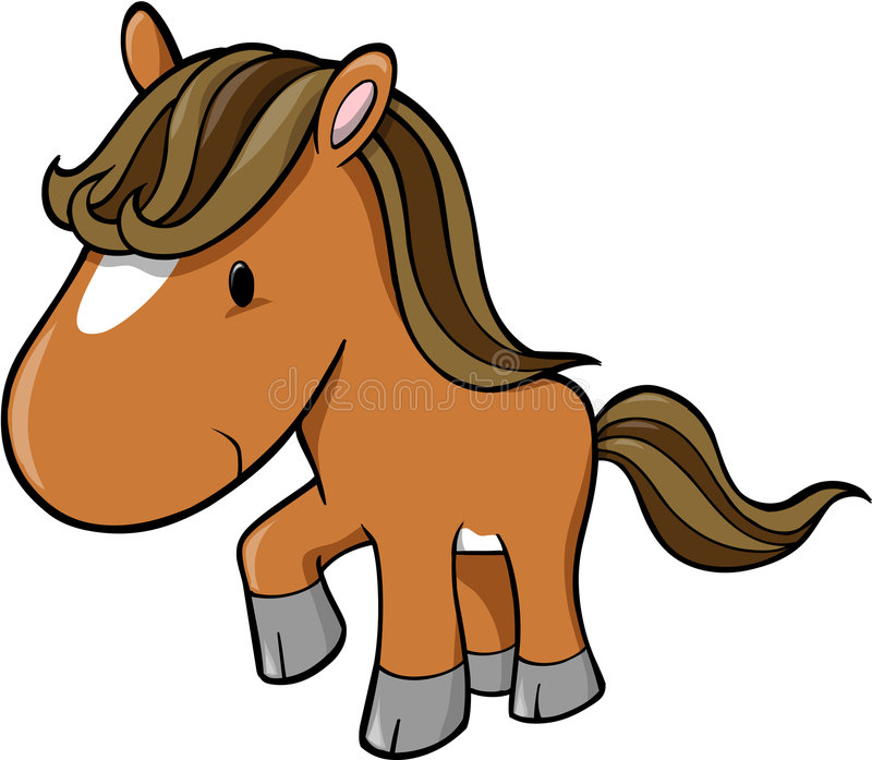 Vector Of Horse Royalty Free Stock Images