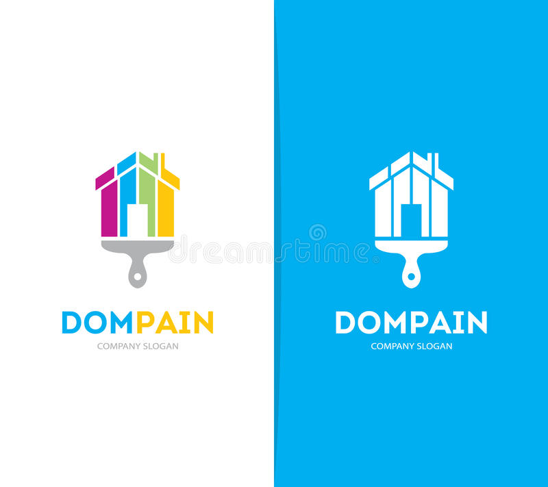 Apartment Rental Agency: Vector Real Estate Logo Or Icon Stock Vector