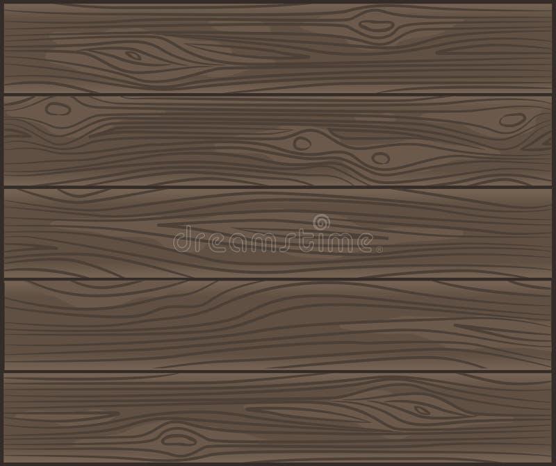 Vector houten achtergrond vector illustratie