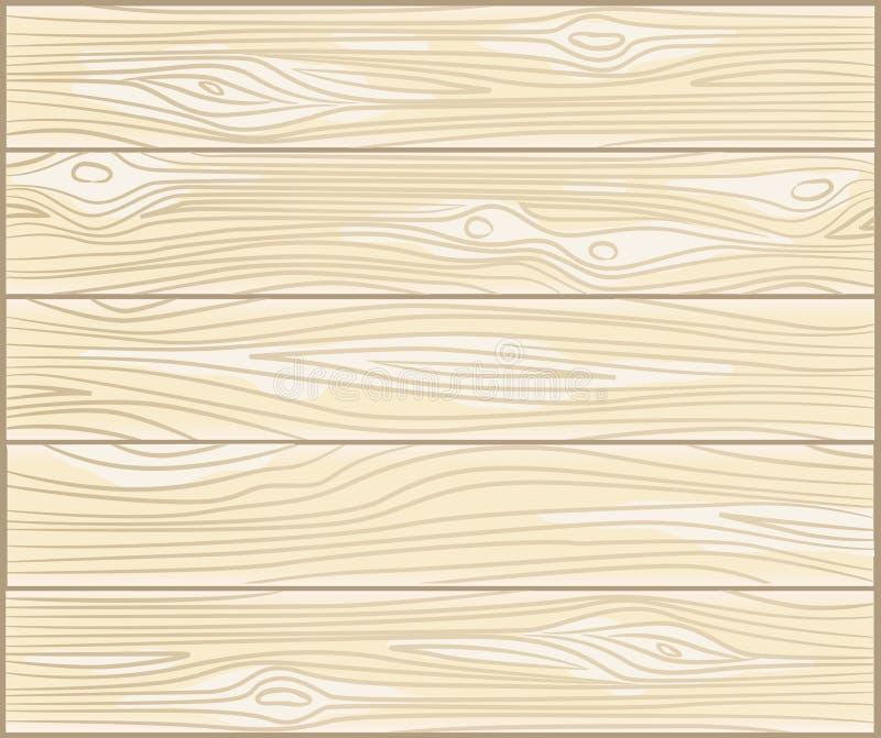 Vector houten achtergrond Vector illustratie royalty-vrije illustratie