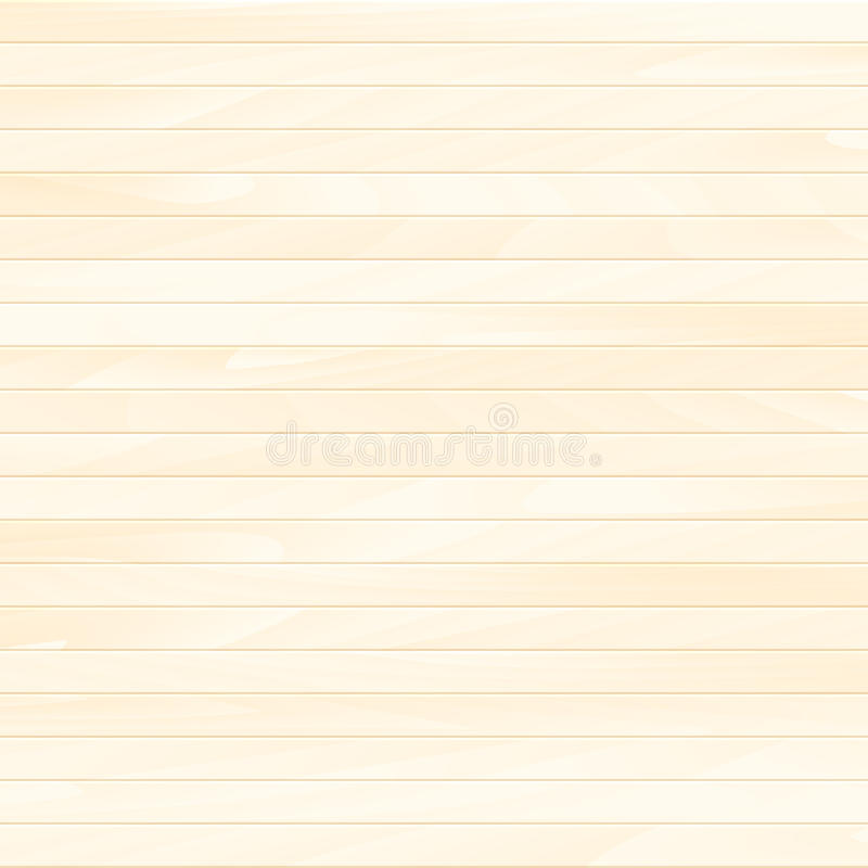 Vector houten plank stock illustratie