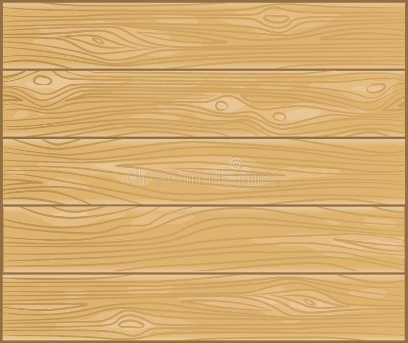 Vector houten plank vector illustratie