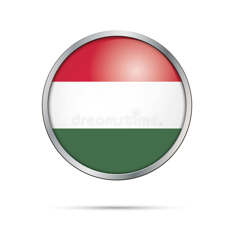 Hungarian Flag Metal Pin Badge hungary eu world cup Brand New