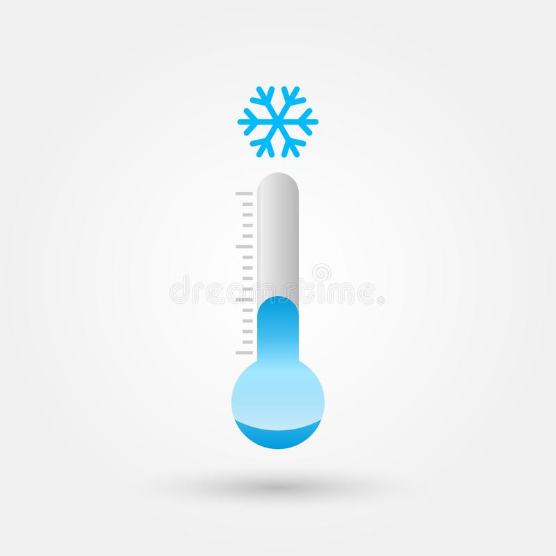 Vector ice cold symbol illustration 2. Vector ice cold symbol illustration royalty free illustration