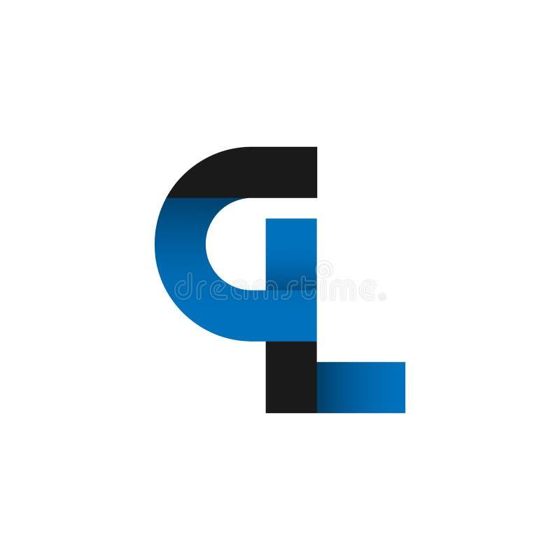 abstract letter gl logo design idea stock vector illustration of rh dreamstime com