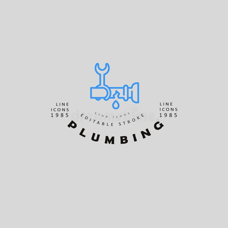 Vector Plumber Logo Stock Illustrations – 3,821 Vector