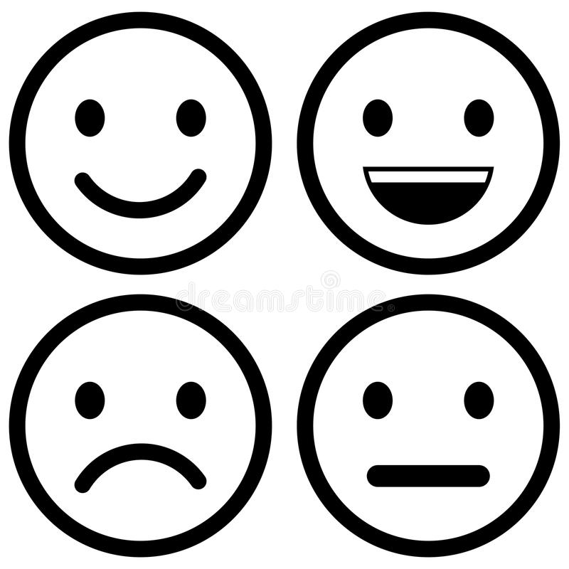 Free Vector Icon Of Smiley Emotions Stock Image - 117638221