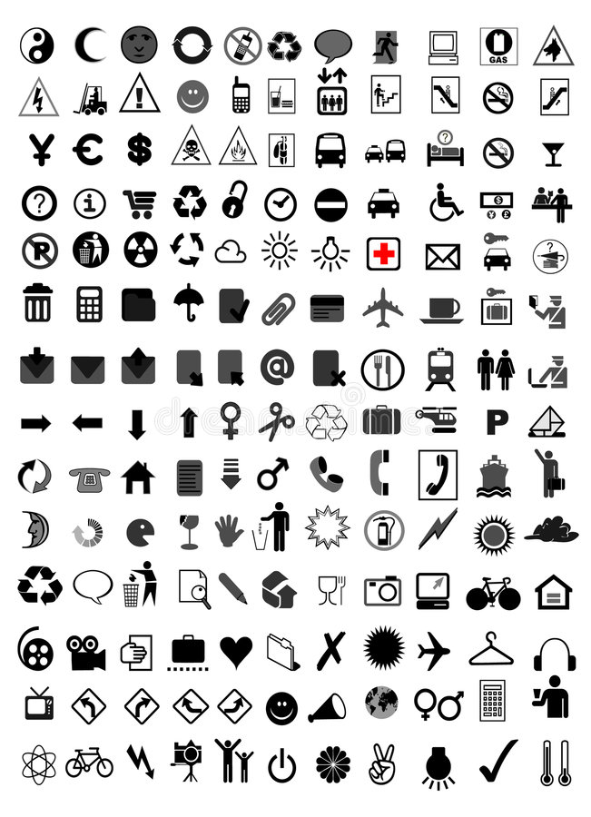 Free Vector Icon Set Royalty Free Stock Images - 8573619