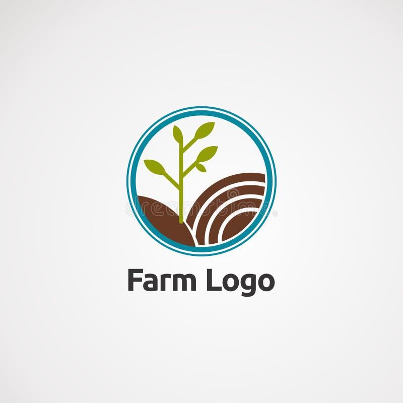 Vector, icono, elemento, y plantilla del logotipo del paño de la estrella para la compañía libre illustration