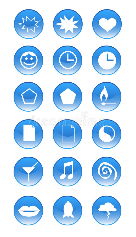 Vector - Icons royalty free stock images