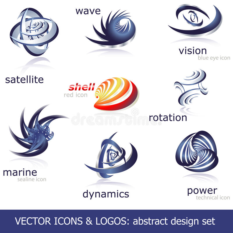 Download Vector icons & logos set stock vector. Image of icons - 15174203