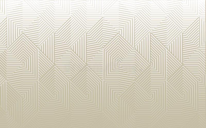 Vector il fondo geometrico royalty illustrazione gratis
