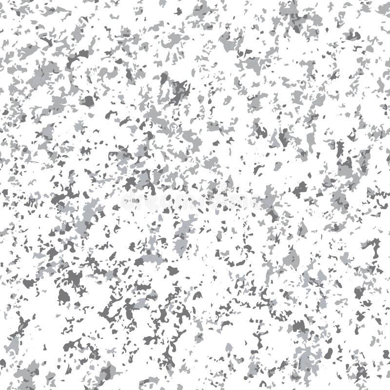 Vector il fondo senza cuciture di pietra di marmo grigio di struttura del modello di ripetizione Le grande per progettazione del  illustrazione di stock