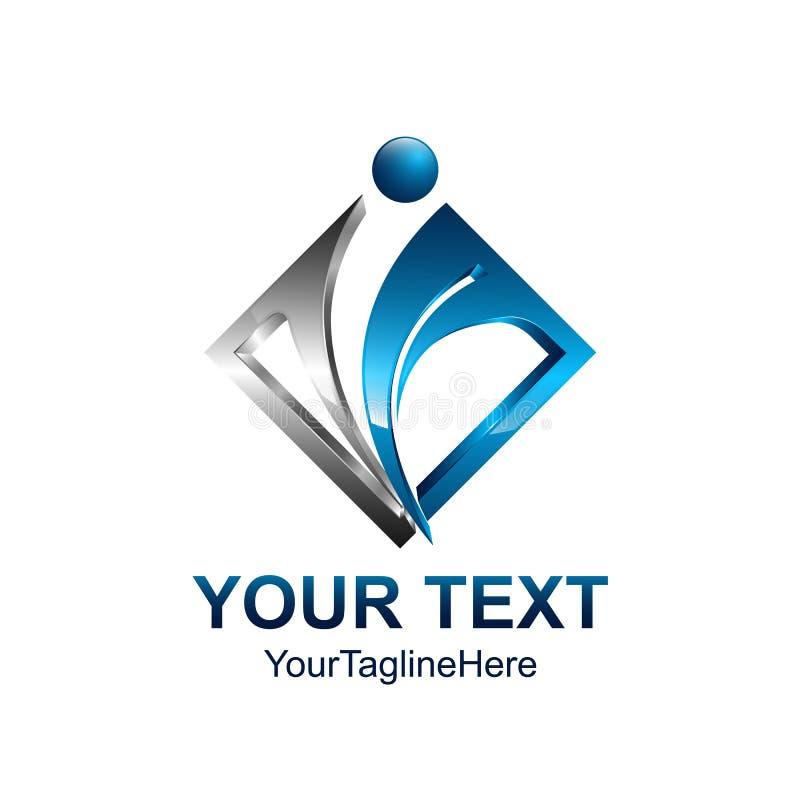 Vector il logo degli uomini, l'essere umano, la famiglia, icona di lavoro di squadra Comunità, la gente royalty illustrazione gratis