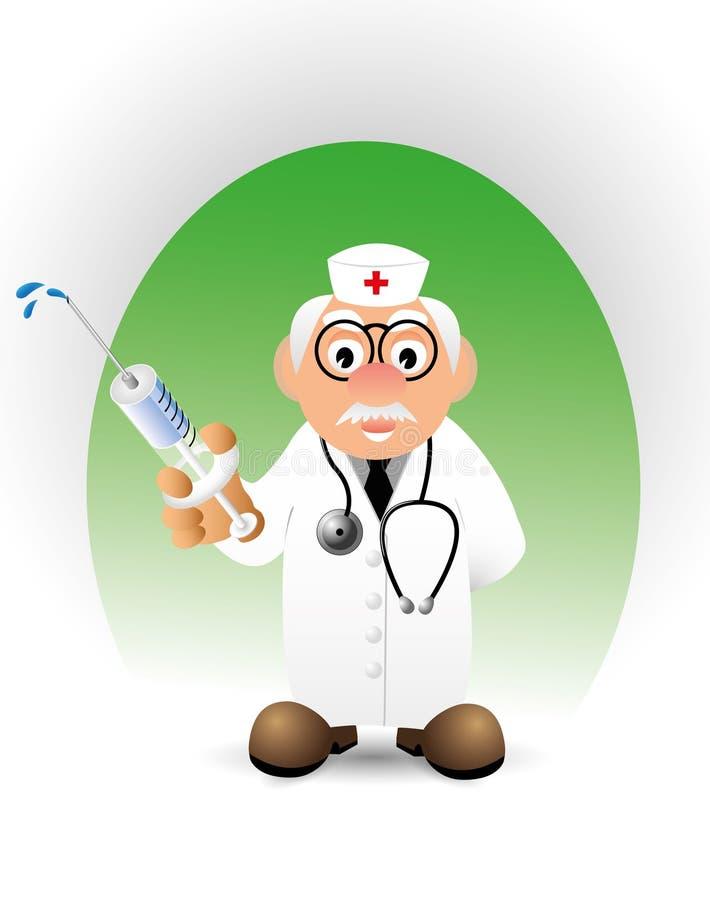 Vector il medico illustrazione di stock