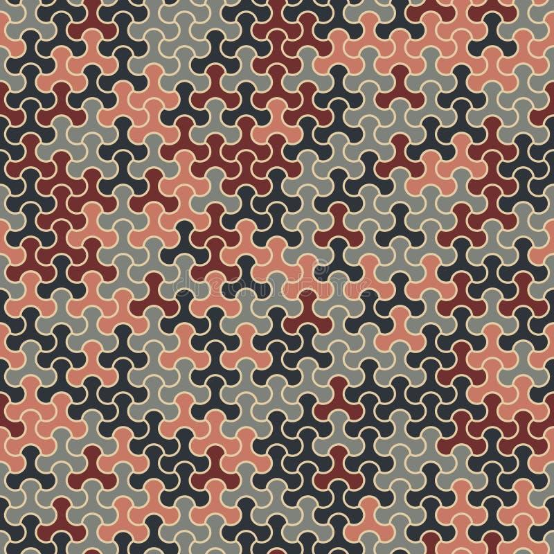 Vector il modello senza cuciture moderno di tessellazione della geometria, g astratto illustrazione vettoriale