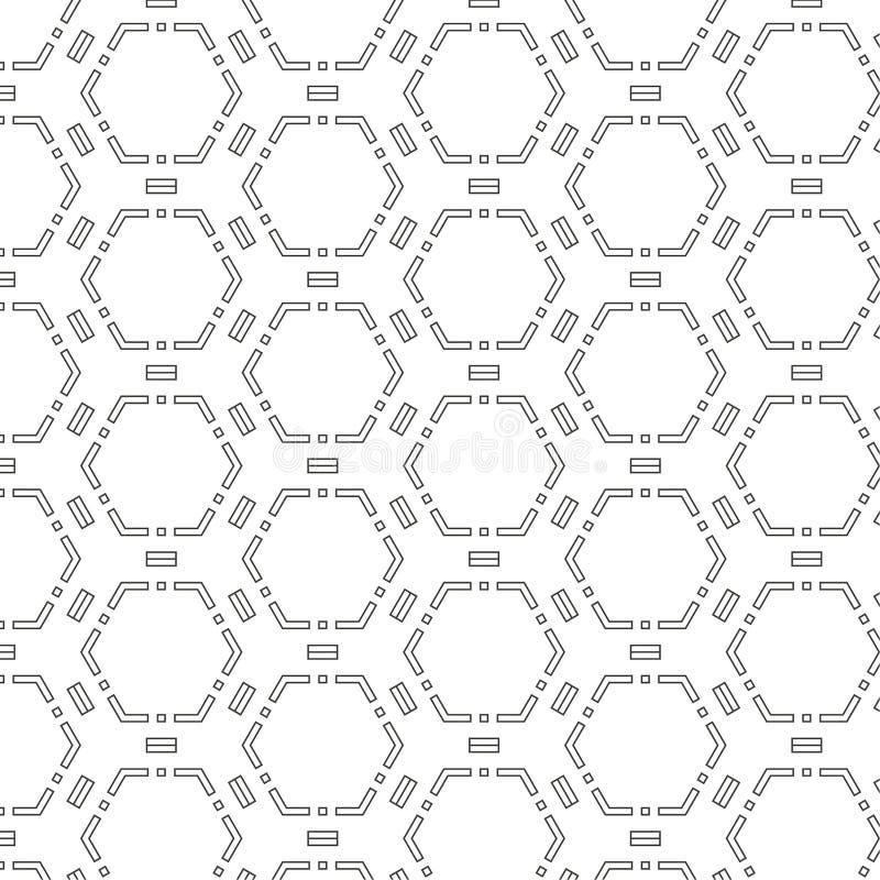 Vector il reticolo senza giunte illustrazione vettoriale