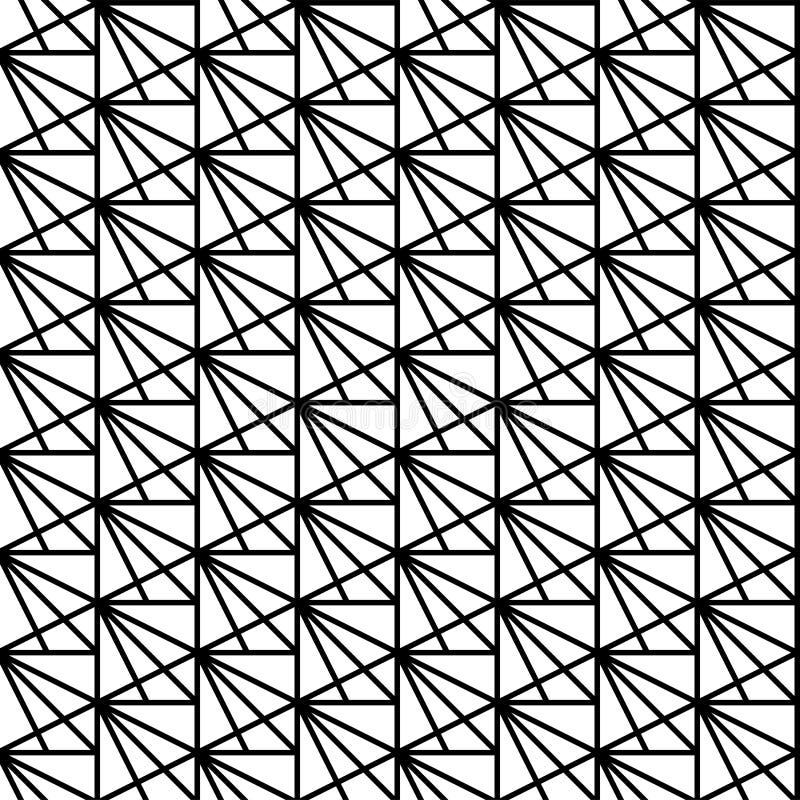 Vector il reticolo senza giunte struttura alla moda moderna  illustrazione vettoriale